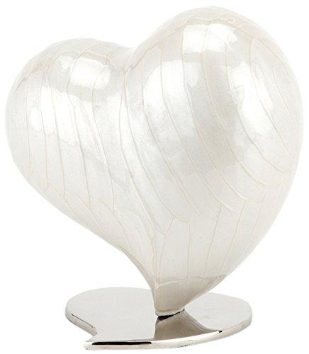 Urns UK Asche Urne, Herz, groß, Watford Pearl