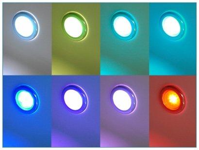 Whirlpool Badewanne St. Tropez mit 14 Massage Düsen + Heizung + Ozon Desinfektion + LED Unterwasser Beleuchtung / Licht + Wasserfall + Radio – Sprudelbad Hot Tub indoor / innen günstig - 7