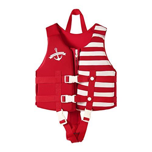 FR&RF Chaleco de Vida de los niños Natación Chaleco Salvavidas de Alta Resistencia para Deportes acuáticos Surfing Natación Niños Chaleco de Seguridad,2,S