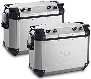 GIVI OBKN37APACK2A 37Ltr OUTBACK pair left+right case silver