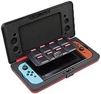 Custodia rigida ultraresistente, appositamente concepita per proteggere la Nintendo Switch Perfetta per riporvi 1 Nintendo Switch, i controller Joy-Con e 8 cartucce di gioco Ideale per trasportare, tenere in ordine e proteggere la Nintendo Switch Mat...