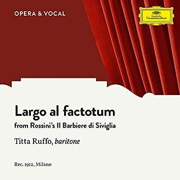 Rossini: Largo al factotum