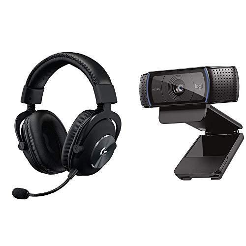 Logicool G Gaming Headset + Logitech Webcam Set [G-PHS-003 +C920n]