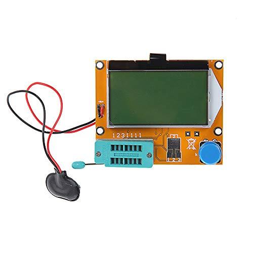 BIlinli 9V LCD Digital Transistor Tester LCR-T4 ESR Medidor 12864 Capacitancia de luz de Fondo