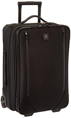 """Victorinox Lexicon 2.0 Softside Expandable Upright Luggage, Black, Carry-On-Global (22"""")"""