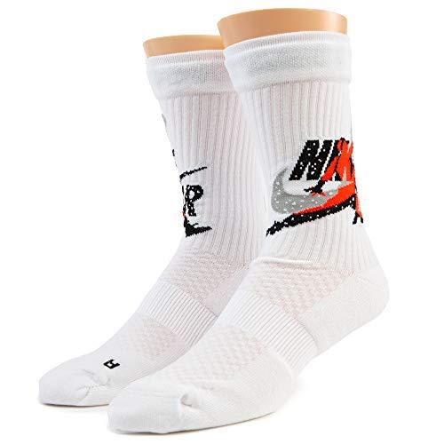 Nike CU2956-100 Calzini Sportivi, Nero, M Uomo
