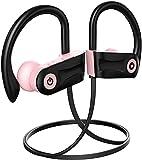 Bluetooth Headphones, Otium Wireless Earbuds for Women, Girls, Stereo Bass in-Ear IPX7 Waterproof 9 Hours Playtime Running Sports Workout Earpho