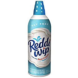 Reddi-wip Fat Free Whipped Dairy Cream Topping, Keto Friendly, 6.5 oz.