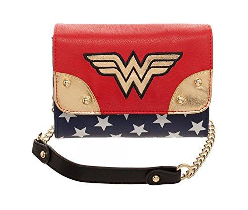 Bioworld Merchandising / Independent Sales Wonder Woman Movie Juniors Sidekick Handbag Standard