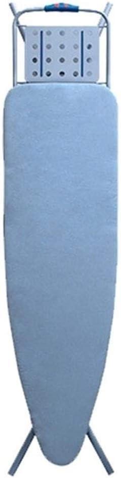 Mrjg 120 * 42cm de Planchado Cubierta de la Placa de mármol en Tela Impresa Tabla de Planchar Cubierta Protectora Antideslizante Gruesa (Color : Silver)