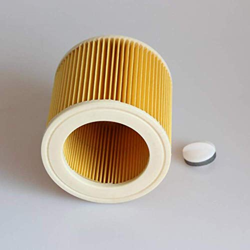 Willlly Ronde Filter Element Voor Karcher A2004 A2054 Wd2.250 Stofzuiger Chic Cleaner Accessoires Verkoop Thuis Dagelijks Gebruik Product Size Kleur