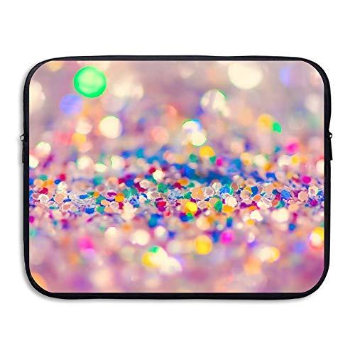 Funda para portátil de 15 Pulgadas Bolsas para portátil Resistentes al Agua Bolsas para maletín con Colores Brillantes Bolsas para maletín