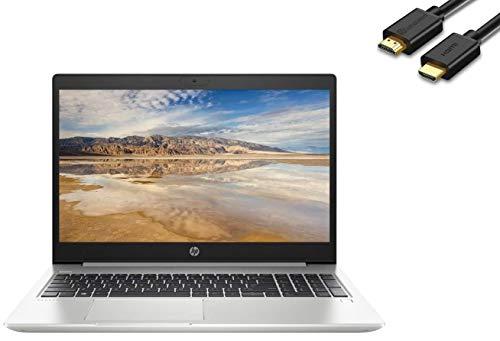 "2020 HP ProBook 450 G7 15.6"" HD Anti-Glare Business Laptop (Intel Quad-Core i5-10210U, 8GB DDR4 RAM, 256GB PCIe SSD) Backlit, Type-C, HDMI, RJ-45, 720P Webcam, Windows 10 Pro 64-bit + IST HDMI Cable"