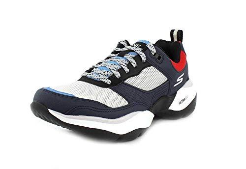 Skechers One Vibe Ultra – Karma Sneaker für Damen, Blau (marineblau / rot), 36.5 EU