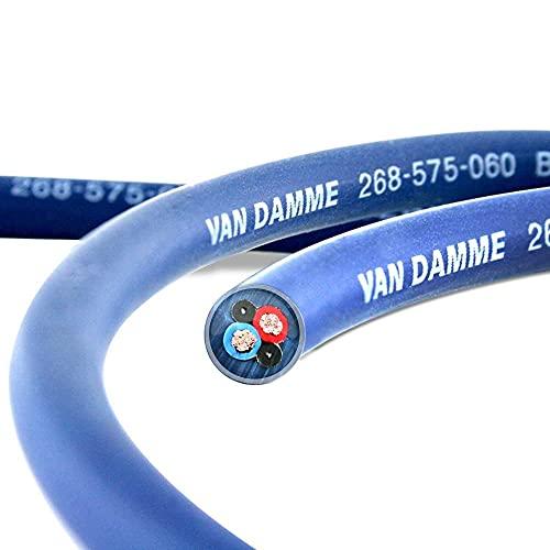 Van Damme Blue Series Studio Grade 2 x 0.75 mm / 8M...