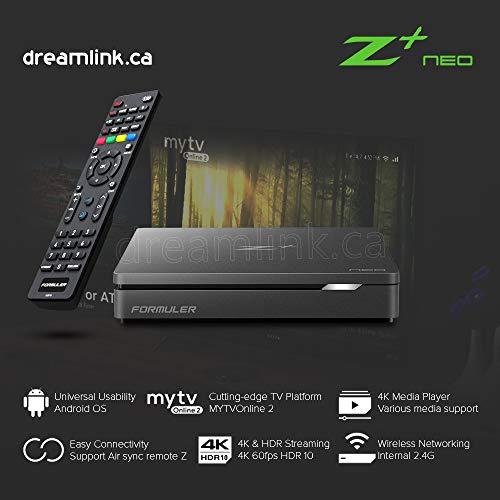 puissant 2020 Nouveau Formuler Z + Plus Neo – Boîtier Android bon marché avec sans fil et MYTV Online 2
