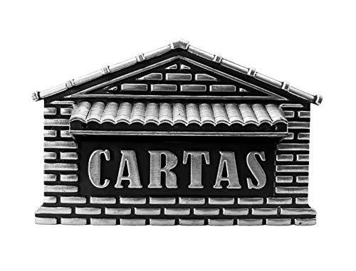 Caixa Correio Pvc Prata N.04 P- Real Caixas