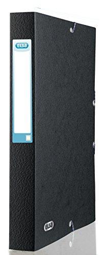 Elba 100200430 - Contenitore per Documenti, 24 x 32 cm, Nero