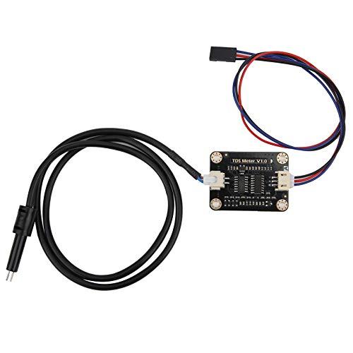 Probador de conductividad del agua, conveniente sonda impermeable Plug and Play Sensor de conductividad portátil, tamaño pequeño para pruebas de calidad del agua doméstica