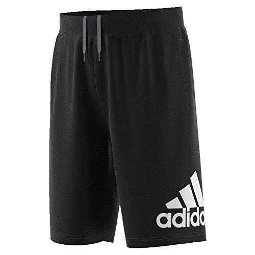 adidas Herren Basketball Crazylight Shorts, Herren, S1711BBM130, schwarz/weiß, XXXL