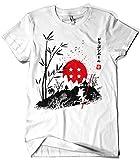 Camisetas La Colmena 4021-Walking in Japan Goku - Dragon Ball (albertocubatas)