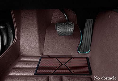 Eagle Leatherite 5D (Black) Car Floor Mats for Kia Sonet