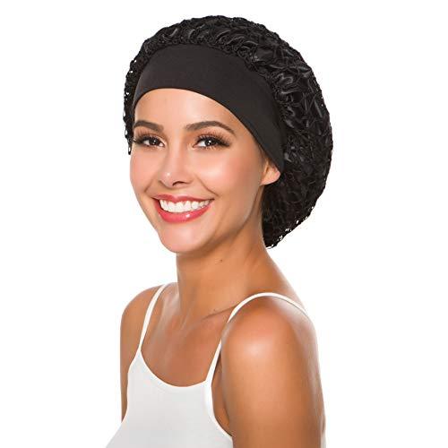 Gorro de ganchillo para mujer, estilo vintage, accesorio para el pelo
