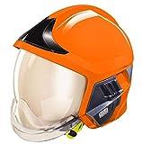 Feuerwehrhelm F1XF Hiviz Warnschutz-Orange