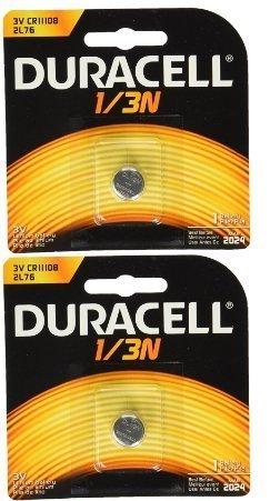 Duracell DL1/3N CR1/3N 3V Lithium Battery 2 Pack