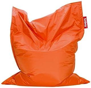 Fatboy® The Original Pouf Poire Bean Bag/Coussin/Fauteuil/canapé d'intérieur XXL | Orange | 180 x 140 cm
