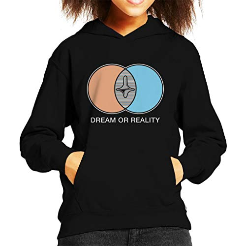 Cloud City 7 Inception Dream Or Reality Kid's Hooded Sweatshirt