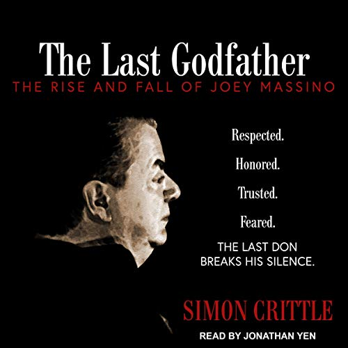 The Last Godfather audiobook cover art