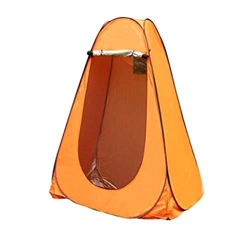 Portátil Ligera Pop-Up Tent Ducha Privacidad Aseo Tienda Tienda Camping Tienda Tienda Tienda Cambio de vestuario Lluvia Lluvia con ventana con bolsa de transporte para al aire libre Indoors Marco Tien