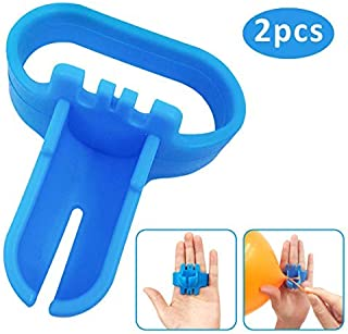 Balloon Tying Tool Tieing Knot Device Accessory Knotting Faster & Save Time, Great for Helium Tanks, Electric Balloon Blower, Balloon Column Arch (2pcs)