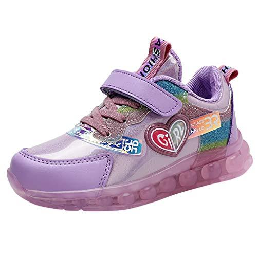 Makalon Unisex Kinder Schuhe Freizeit Sneaker Atmungsaktiv Sportschuhe Laufschuhe, Baby Jungen Mädchen Schuh Turnschuhe, Outdoor Sport Hallenschuhe Wanderschuhe Klettverschluss