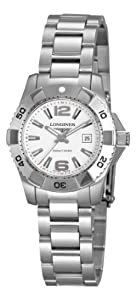 Longines Women's L32474166 HydroConquest White Dial Watch image