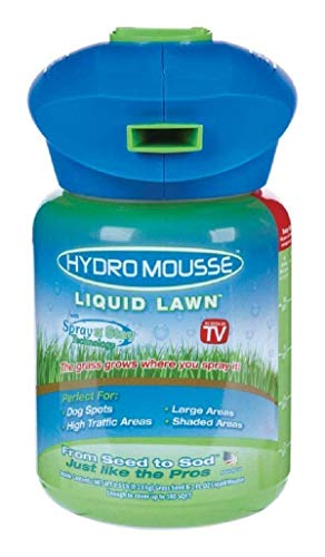Hydro Mousse Liquid Lawn System – Grow Grass Where You Spray It – Made in USA