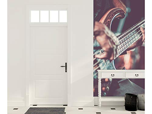 Oedim Cenefa Vertical Entradita Autoadhesiva Vinilo Pared Guitarra electrica   200 x...