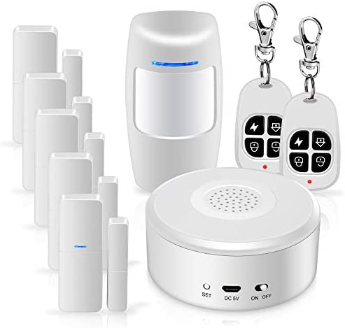 WiFi Alarm System Kit Smart Security System DIY No Monthly Fee Wireless with APP Push and Calling product image