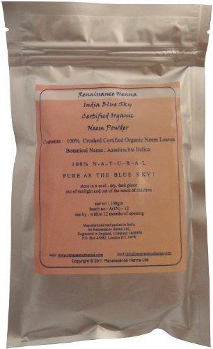 Organico neem polvere, 100g