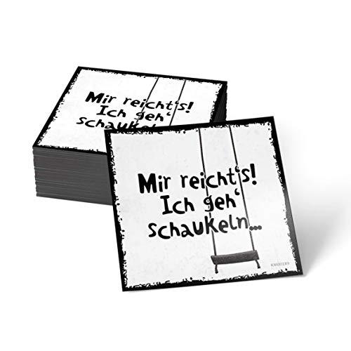 how about tee Mir reicht's! Ich GEH' schaukeln - Kühlschrank- / Whiteboard-Magnet