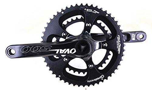 Oval Concepts 500 Praxis M30 52/36T 172.5mm Road Bike Crankset 10/11 Speed NEW