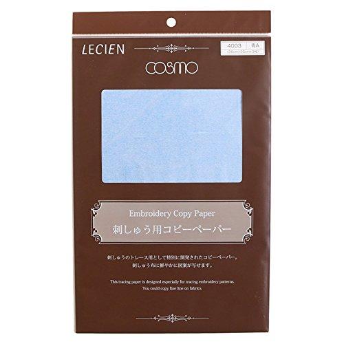 cosmo COSMO コスモ 刺しゅう用コピーペーパー3枚入り COT4003-B 26×35cm 青 [9025]