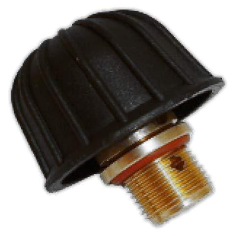 DOJA Industrial | Tapon vaporeta 1/4 macho con seguridad |