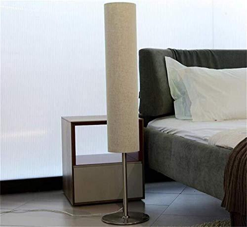 BJLWTQ Lámpara de pie, Dormitorio de la Planta de Las Luces de Noche de Metal Creativos de Estudio Moderno y Minimalista de pie luminarias de Luz Salón Europeo de pie Lámpara incluida, Brown Luz para