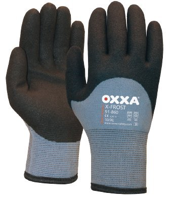 OXXA 8718249037856x-frost, schwarz/grau, Größe 8