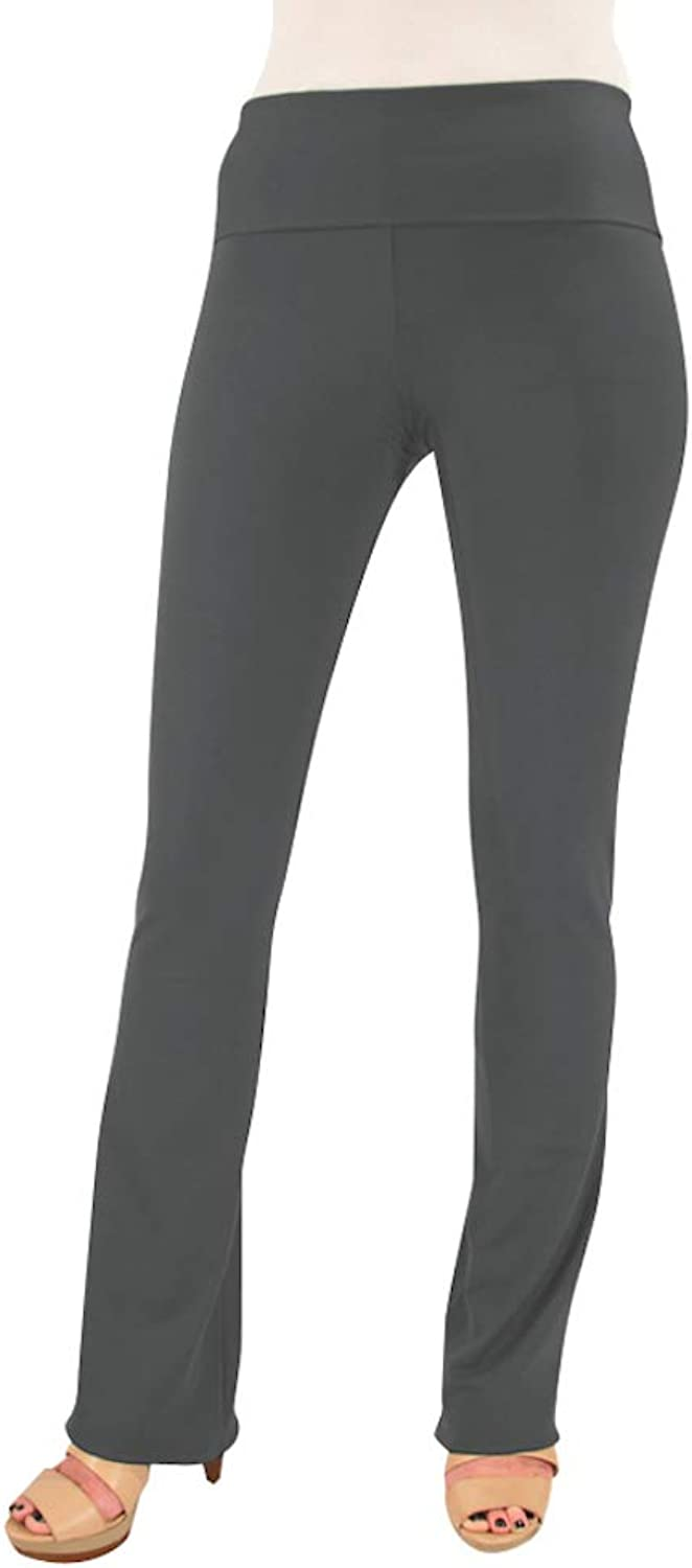 Hold Your Haunches As Seen On Shark Tank Charcoal Booty Patootie Bootcut Legging