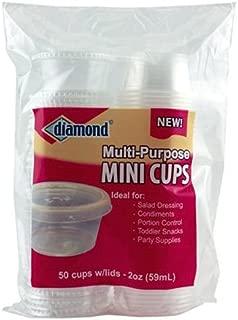 diamond mini cups
