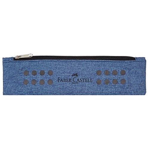 Faber-Castell 573151 Astuccio portamatite Tessuto Blu astuccio per matita