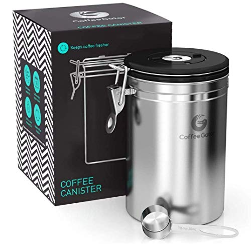 Coffee Gator Coffee Canister